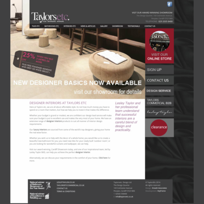 Taylors Etc Design Ltd