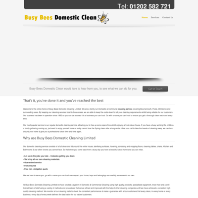 Busy Bees Domestic Cleaning Limited