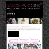 Natasha Wiggins Wedding Hair and Make up