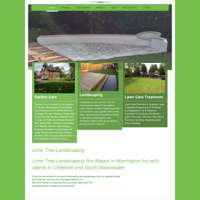 Lime tree landscaping