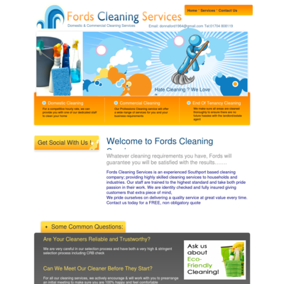 Fords cleaning services