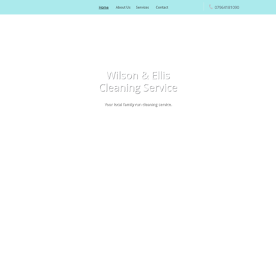 Wilson & Ellis cleaning service