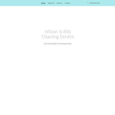 Wilson & Ellis cleaning service
