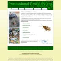 Professional pest services