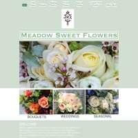Meadow Sweet Flowers  logo