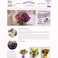 Petite fleur floristry  logo