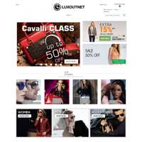 Luxoutnet: Online Shop for Men and Women Clothing  logo