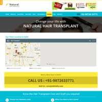 Natural Hair Transplant India logo