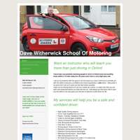 Dave witherwick school of motoring logo