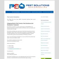 Pest Solutions OxfordshireLtd