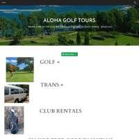 Aloha Golf Tours logo