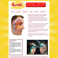 Powwow Face Painting logo