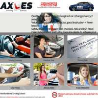 Axles Driving School logo