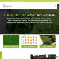 The Artificial Grass Specialists logo