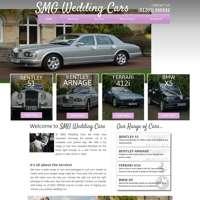 SMG Wedding Cars logo