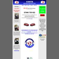Costa driving school  logo
