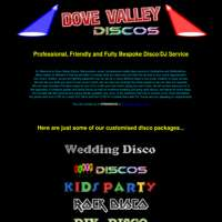 Dove Valley Discos (www.derbydisco.co.uk) logo