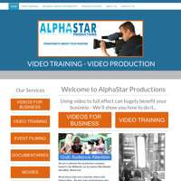 AlphaStar Productions logo