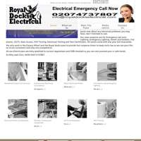Royal Docks Electrical Ltd logo