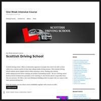 Scottish Driving School logo