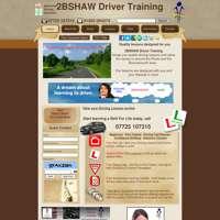 2BSHAW Driver Training logo