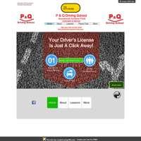 P & Q Driving School  logo