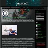 Soundbox Technical Services logo