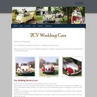 2CV Wedding Cars logo