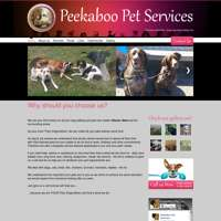 Peekaboo Pet Services logo