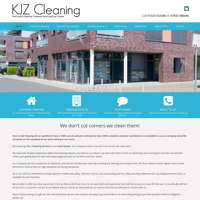 KJ Z cleaning logo