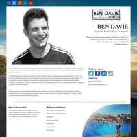 Ben Davie fitness  logo