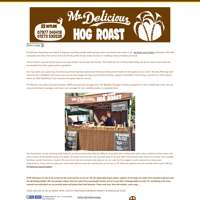 Mr Delicious Hog Roast logo