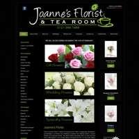 joannes florist & tearoom logo