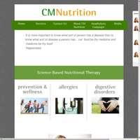 CM Nutrition logo