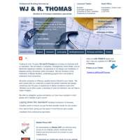 Wjandrthomas building and paving contractors