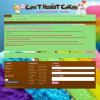 Can't Resist Cakes logo