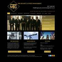 TMG security and events management logo