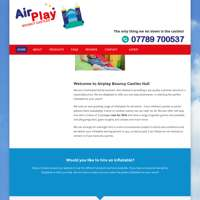 Airplay bouncy castles  logo