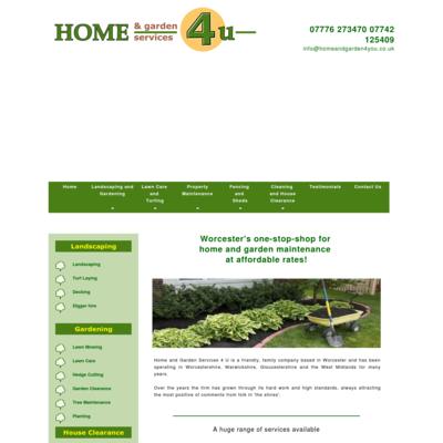 Home and gardens 4 u ltd
