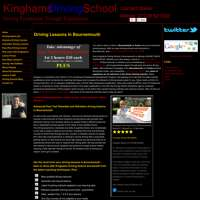 Kinghams Driving School logo