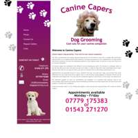 Canine Capers logo