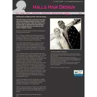 Halls Hair Design logo