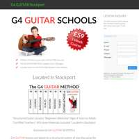 G4 Guitar School Stockport logo