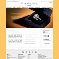 77 Diamonds logo