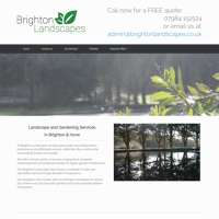 Brighton Landscapes  logo