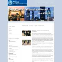 NKG Close Protection logo