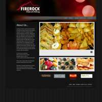 Southampton Corporate Catering / Firerock Corporate catering logo