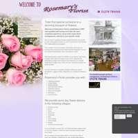 rosemarys florist logo