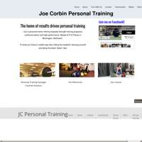 Joe corbin personal training logo