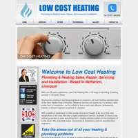 Low cost heating logo